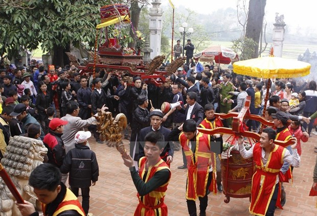 Mountain God festival becomes national heritage hinh anh 1