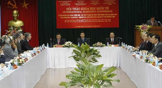 Conference discusses values of Communist Manifesto hinh anh 1
