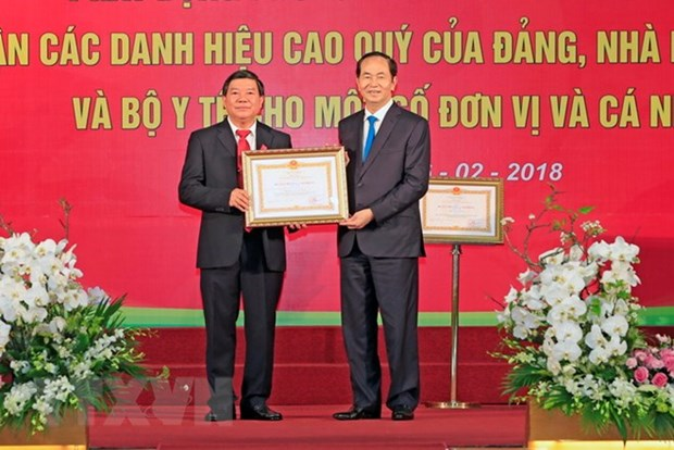 President extends greetings to doctors on Vietnamese Doctors' Day hinh anh 1