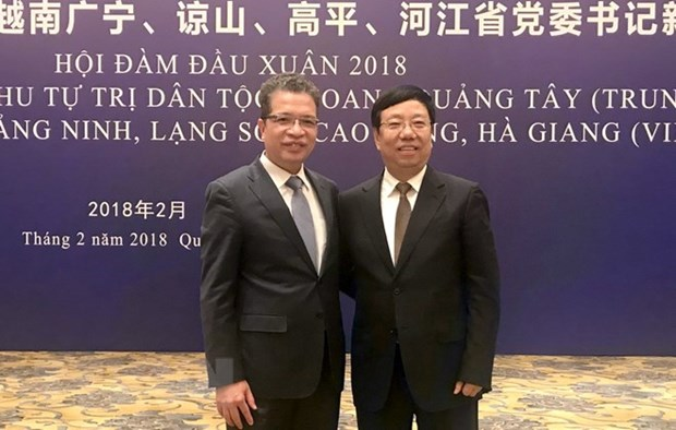 Vietnamese, Chinese provinces foster cooperation hinh anh 1