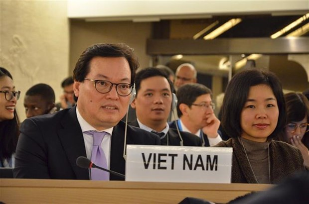 Vietnam attends UN Human Rights Council's 37th session hinh anh 1
