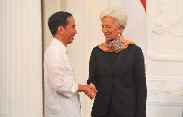 IMF chief urges Indonesia to boost growth to create more jobs hinh anh 1