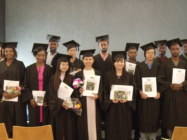 Vietnamese students graduate from Israel's agricultural MSc course hinh anh 1