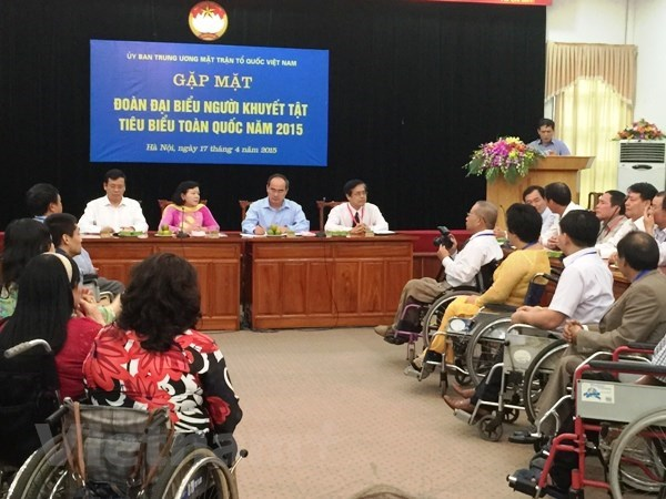 Project to enhance social inclusion of disabled people in Can Tho hinh anh 1