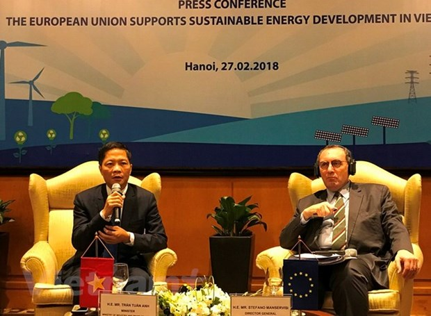 EU helps Vietnam's rural areas access sustainable energy hinh anh 1