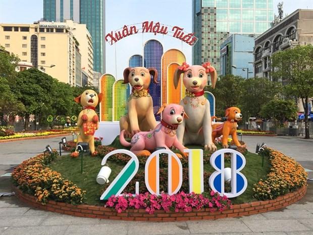 Nguyen Hue Flower Street proves popular hinh anh 1