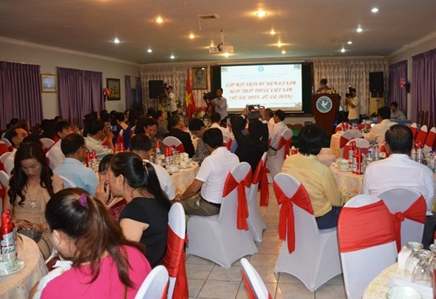 Gathering marks Vietnamese Doctors' Day in Cambodia hinh anh 1