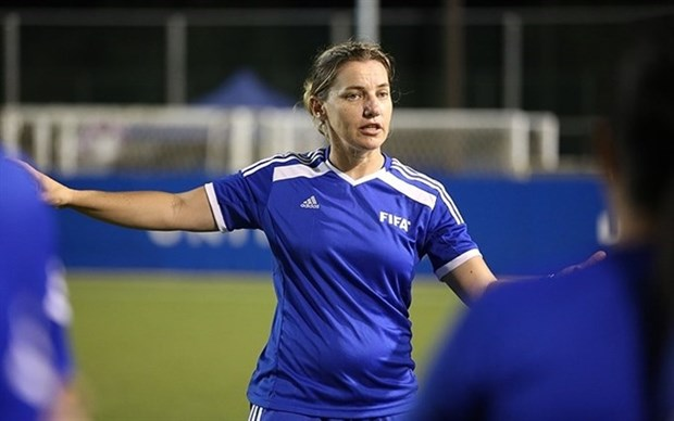 FIFA expert to help develop Vietnamese women's football hinh anh 1
