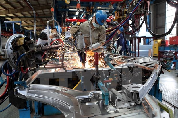 Industrial production index rises 15.2 percent in Jan-Feb hinh anh 1