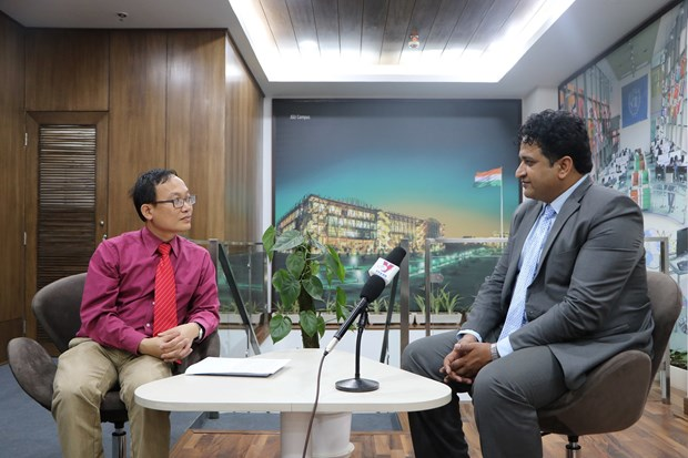 Indian scholar hails Vietnamese President's upcoming visit hinh anh 1