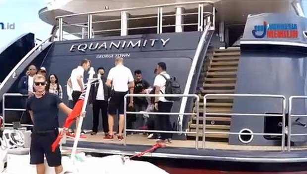 Indonesia seizes luxury yacht linked to 1MBD probe hinh anh 1