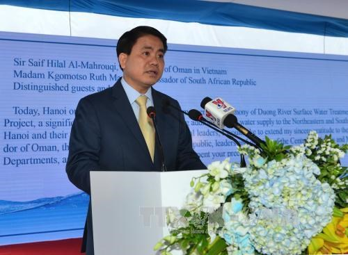 Hanoi looks to speed up Duong River Surface Water project hinh anh 1