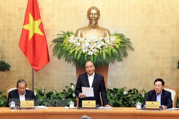 Cabinet meeting reviews socio-economic situation in first two months hinh anh 1