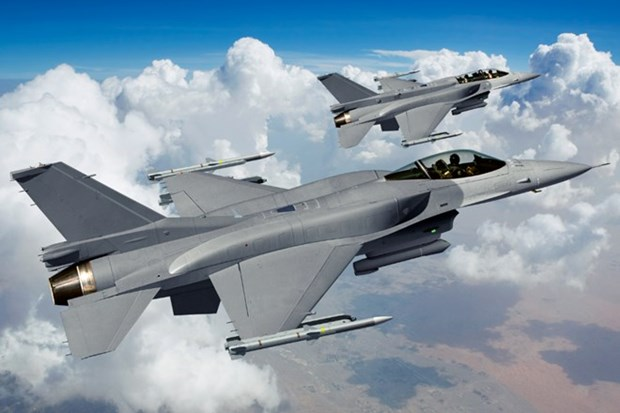 Indonesia receives 24 F-16 fighter jets from US hinh anh 1