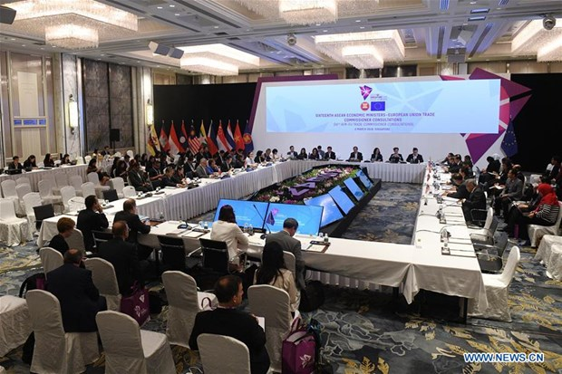 ASEAN-EU FTA expected to be approved by year-end hinh anh 1