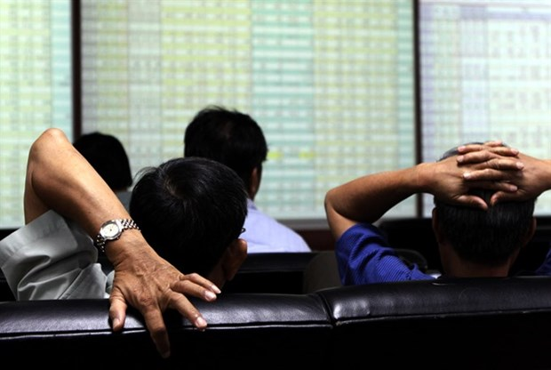 Shares decline after a four-day rise hinh anh 1