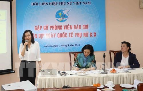 Various activities to celebrate International Women's Day hinh anh 1