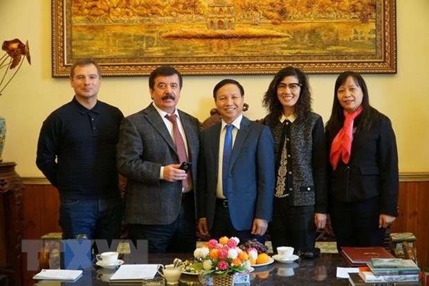 Top ranked university of Russia ready to welcome Vietnamese talents hinh anh 1