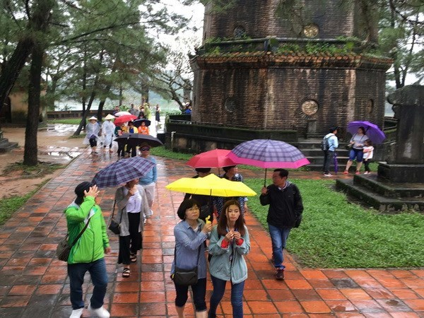 Thua Thien-Hue records surge of tourists in two months hinh anh 1