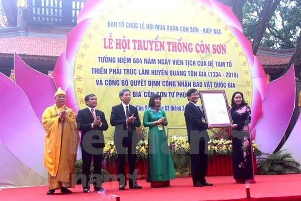 Con Son-Kiep Bac Spring Festival kicks off hinh anh 1