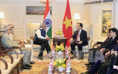 Vietnamese President receives leaders of Indian political parties hinh anh 1