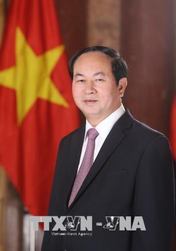 Vietnamese President begins State visit to Bangladesh hinh anh 1