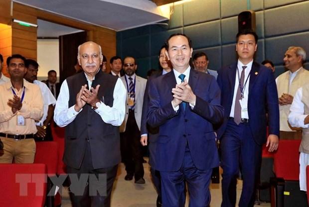 Vietnamese President's speech at Nehru Memorial Museum hinh anh 1