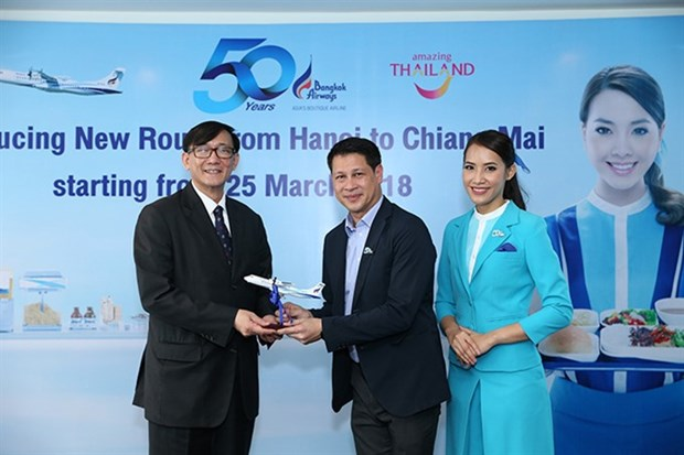 Bangkok Airways plans Hanoi-Chiang Mai flight hinh anh 1