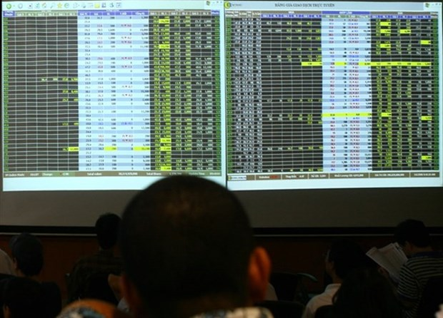 Shares slide on large-cap stocks hinh anh 1