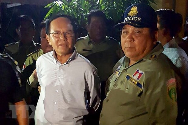 Former Cambodian opposition leader's pre-trial detention extended hinh anh 1