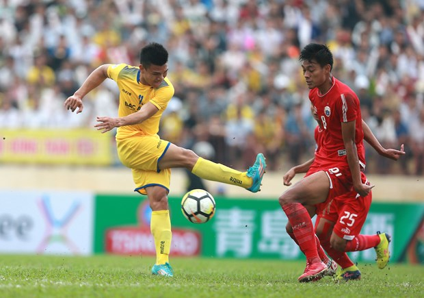 AFC Cup 2018: Song Lam Nghe An draw with Persija Jakarta hinh anh 1