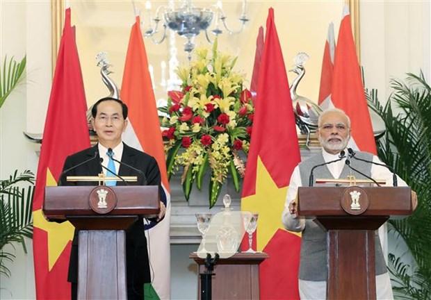 President Tran Dai Quang concludes India, Bangladesh visits hinh anh 1