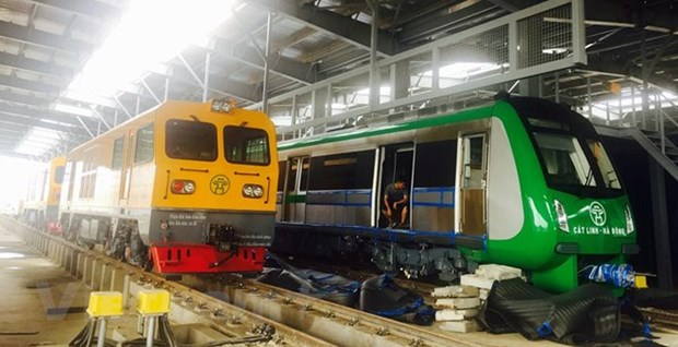 Cat Linh – Ha Dong railway to be operational in Q4 hinh anh 1