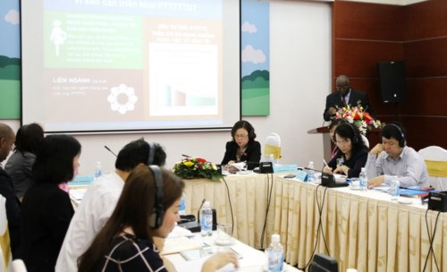 Conference talks integrated early childhood development hinh anh 1