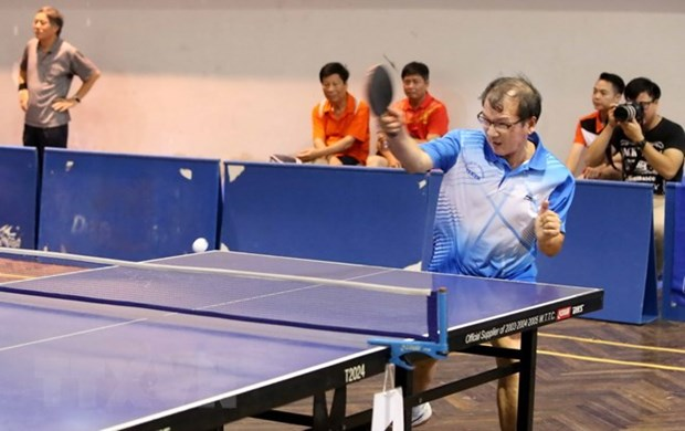 Japan – Vietnam table tennis friendly exchange in Ho Chi Minh City hinh anh 1