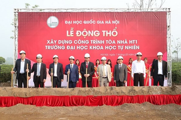 Work starts on new building of Hanoi University of Science hinh anh 1