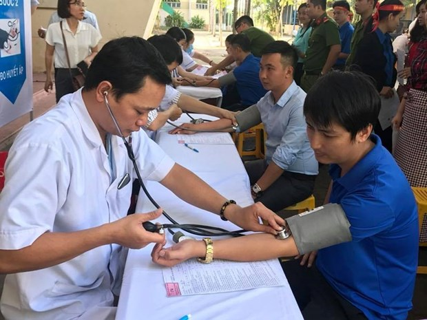 Blood donation festival opens in Binh Phuoc hinh anh 1