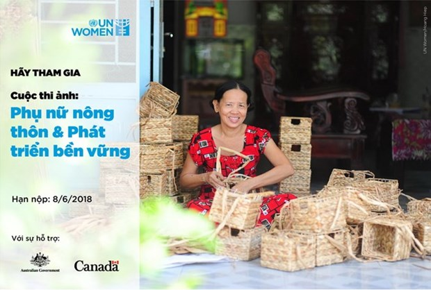 Photo contest on rural women, sustainable development launched hinh anh 1
