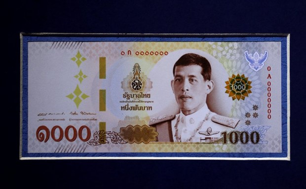 Thailand to use new banknotes with portrait of King Rama X hinh anh 1