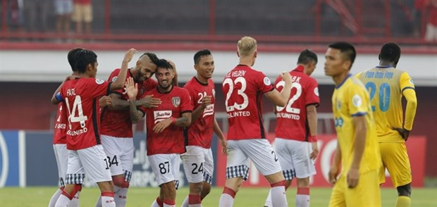 Thanh Hoa lose to Bali United at AFC Cup hinh anh 1