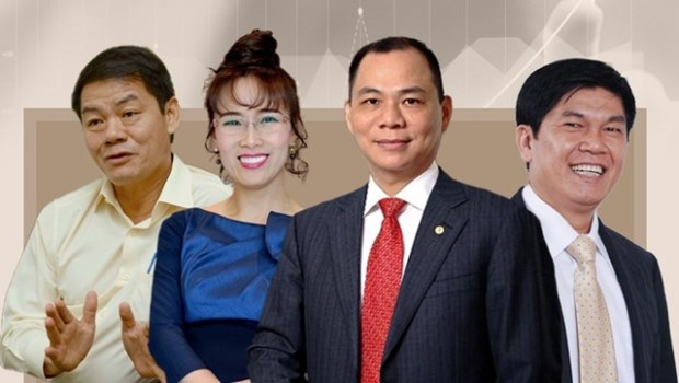 Vietnam has four billionaires in Forbes' list hinh anh 1