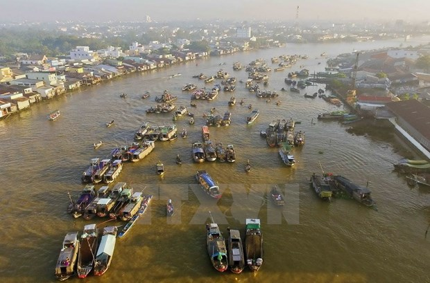 Cai Rang Floating Market to be strong tourism brand of Can Tho hinh anh 1