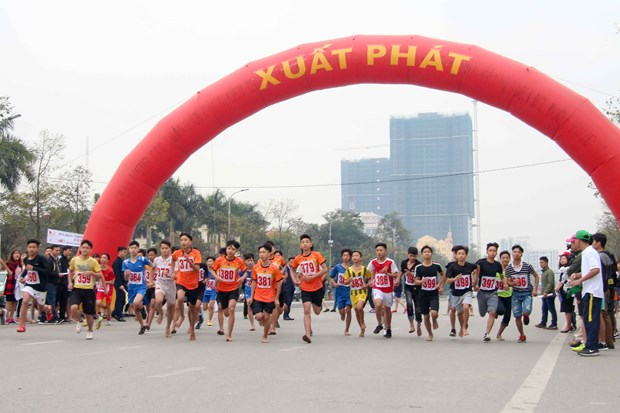 Bac Ninh hosts Fun Run in response to ASIAD 18 hinh anh 1