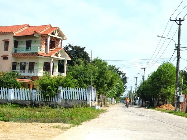 Ministry raises new-style rural area building goal to 39 percent hinh anh 1