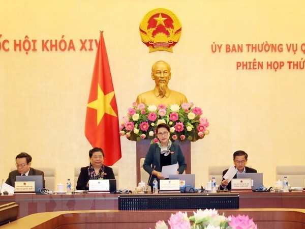 National Assembly Standing Committee sits for 22nd session hinh anh 1