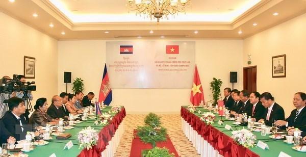 Vietnam, Cambodia promote cooperation in religious affairs hinh anh 1
