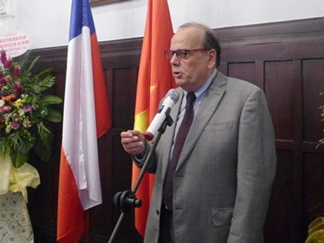 Chilean ambassador receives friendship insignia hinh anh 1