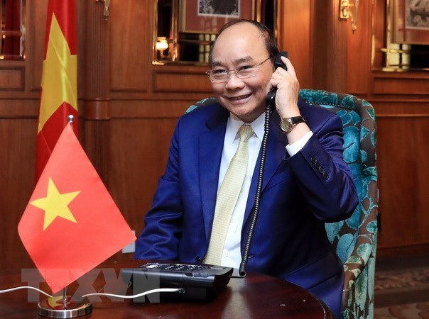 PM holds phone talk with New Zealand's Governor-General hinh anh 1