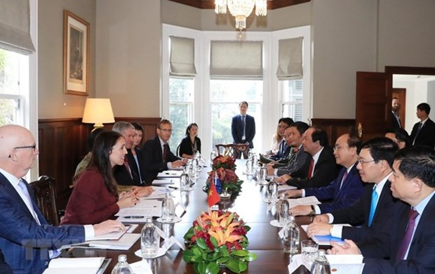 Vietnam, New Zealand agree to boost all-round cooperation hinh anh 1