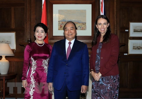 VN, NZ issue joint statement on advancing comprehensive partnership hinh anh 1